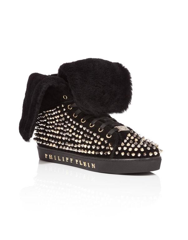 """high sneakers """"dear"""""""