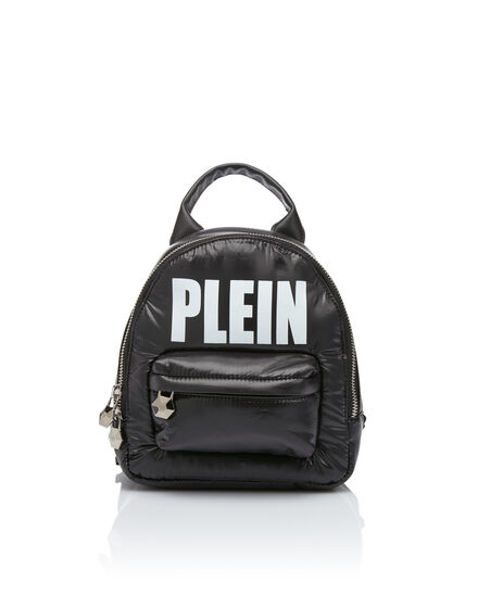 Backpack Nylon Plein
