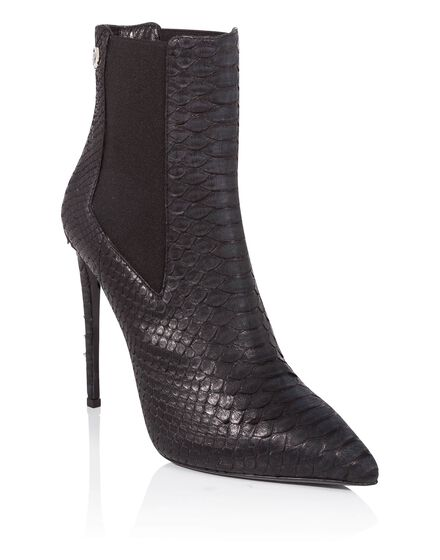 bootie high heels Elle