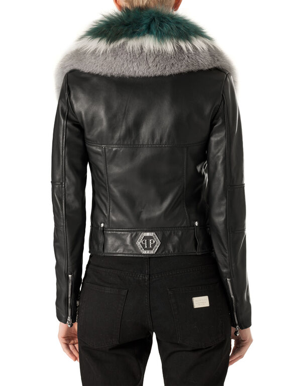 "Leather Biker ""Beekman Street"""