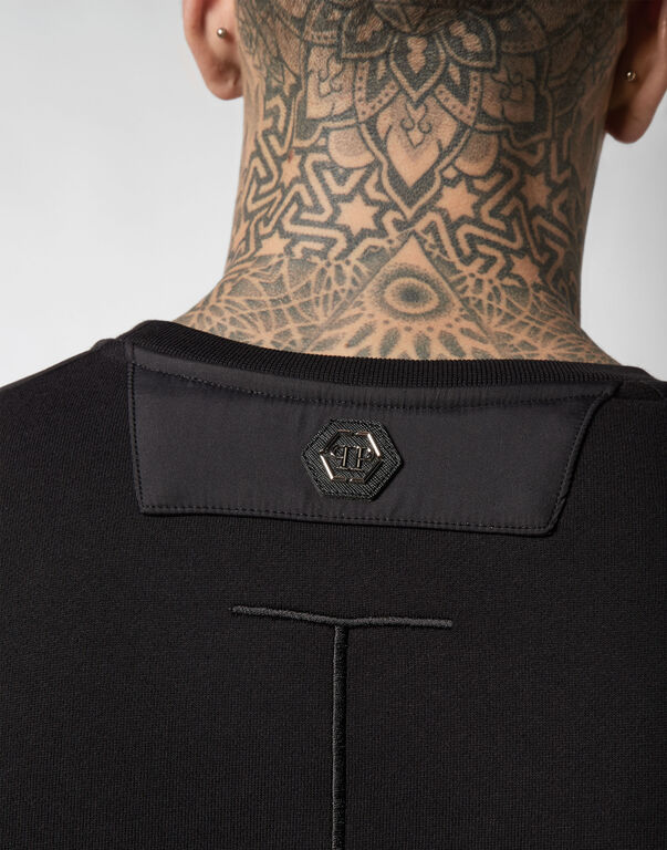 Sweatshirt LS Zipped
