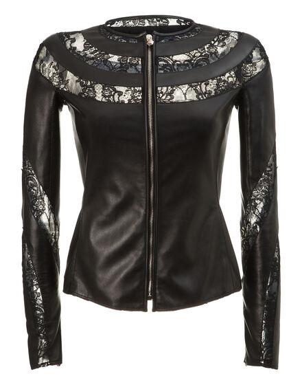 leather jacket visuddha