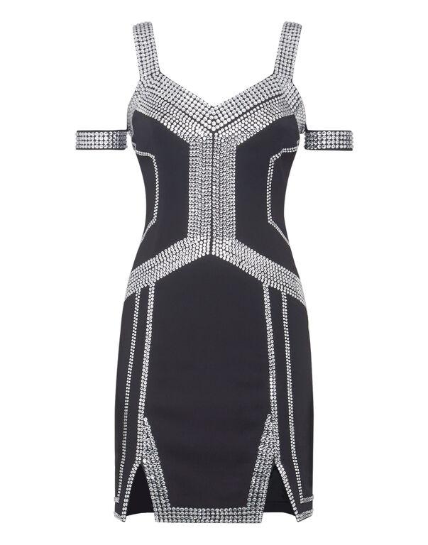 Short Dress Geometric