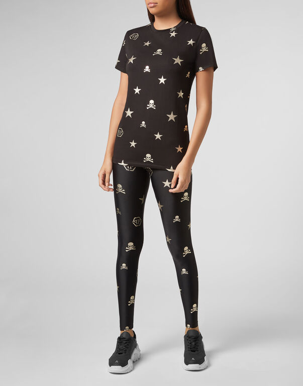 Jogging Leggings XYZ Skull and Plein