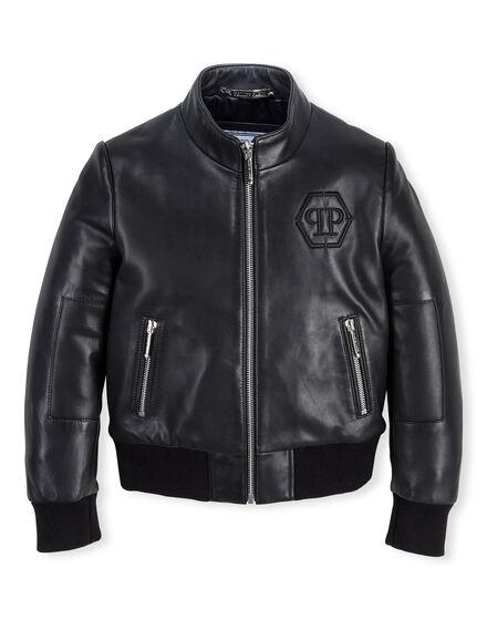 Leather Biker Panters
