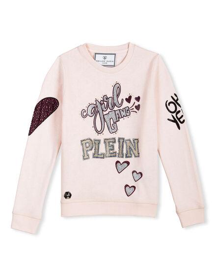 Sweatshirt LS Lavanda Pale