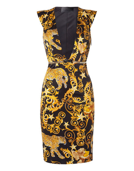 Short Dress Mauve