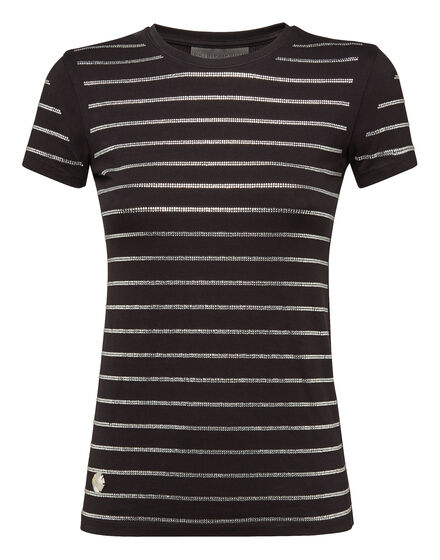 T-shirt Round Neck SS Strass
