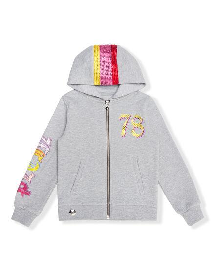 Hoodie Sweatjacket Colorfull