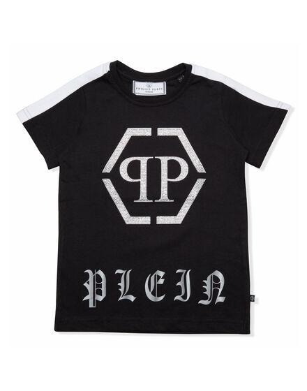 T-shirt Round Neck SS Just wanna be