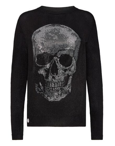 Pullover Polo-Neck LS Skull