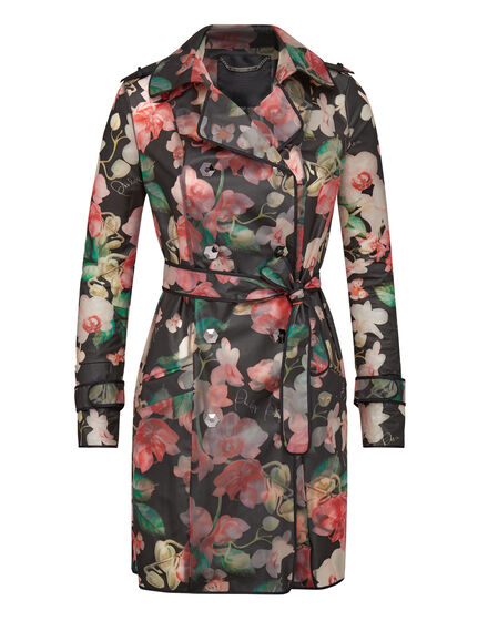 Trench coat Flowers