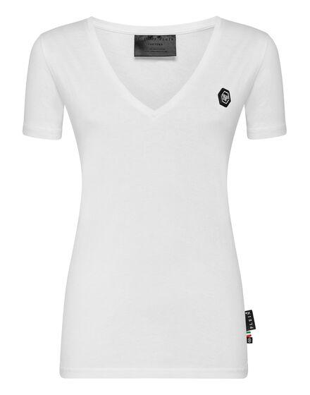 T-shirt V-Neck SS P.L.N.