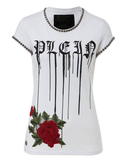 T-shirt Round Neck SS Shiny rose