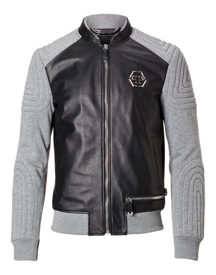 Leather Bomber Taira
