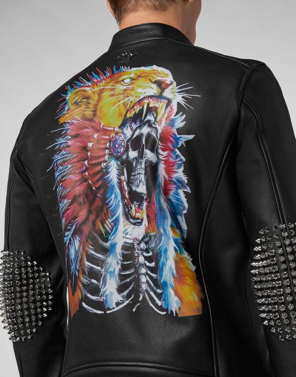Leather Biker Cowboy