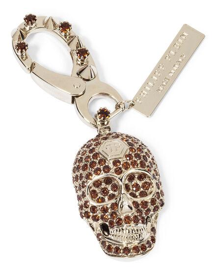 key chain bright skull