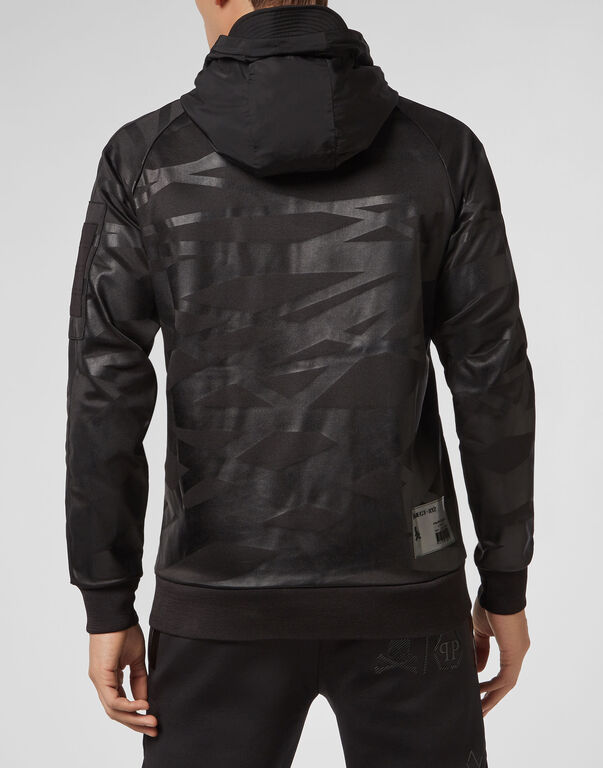 Hoodie sweatshirt XYZ Skull and Plein