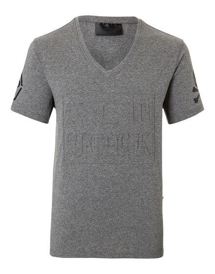 T-shirt V-Neck SS Light