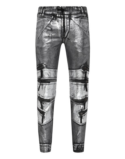 Jogging Trousers Silver
