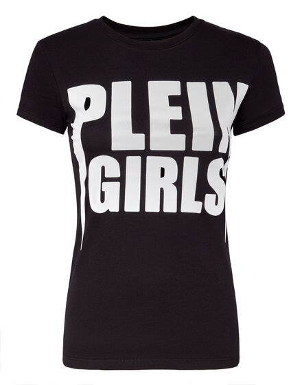 T-shirt Round Neck SS Plein Girls