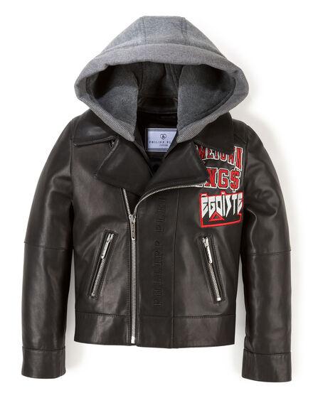 Leather Jacket Black Egoiste