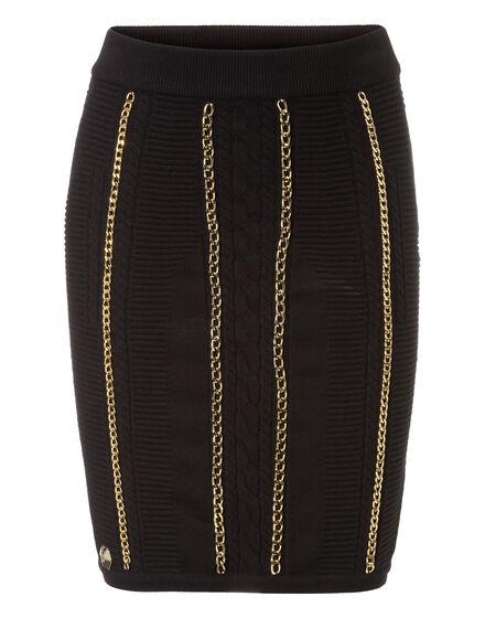 Knit Short Skirt Namcha
