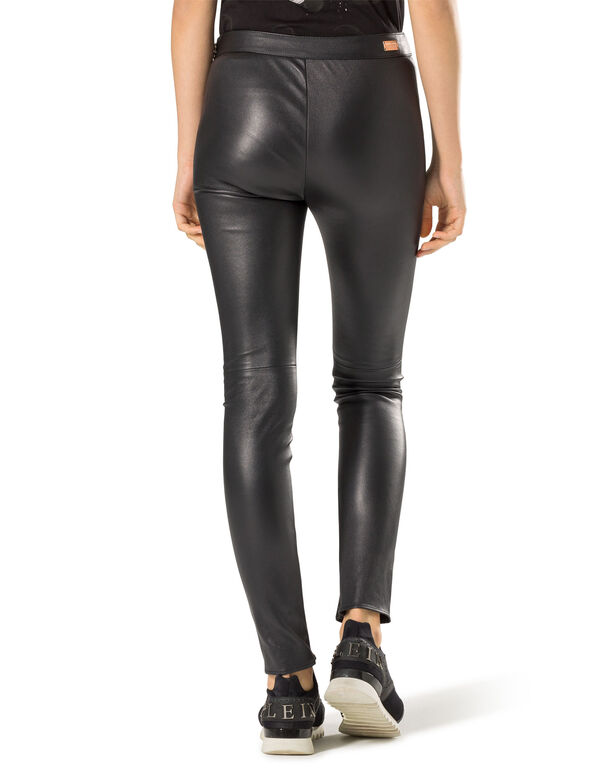 "leather trousers ""on and on"""