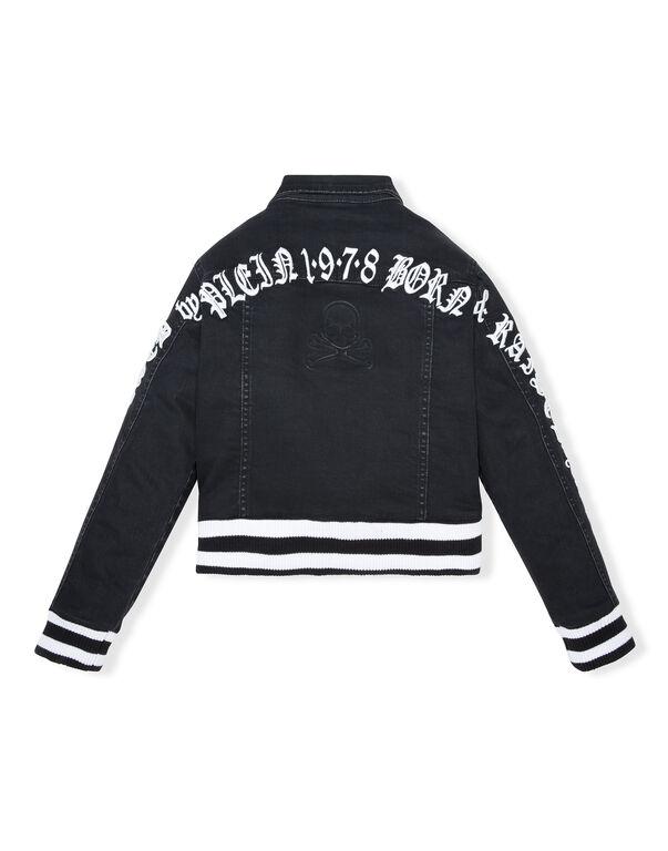 Denim Jacket Gothic Plein