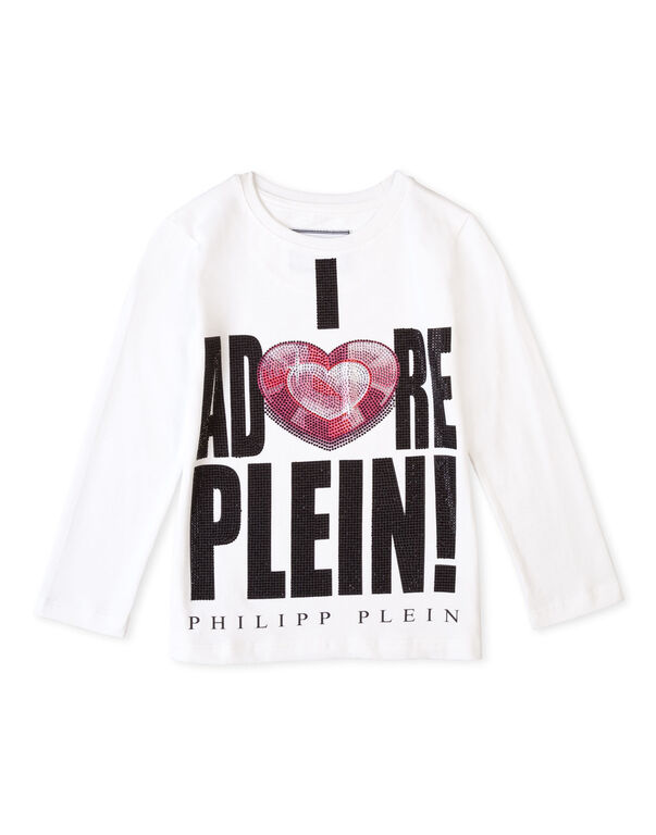 "t-shirt long sleeves ""adore you"""