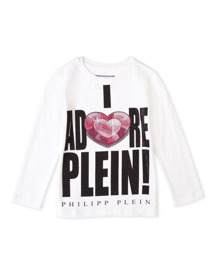 t-shirt long sleeves adore you