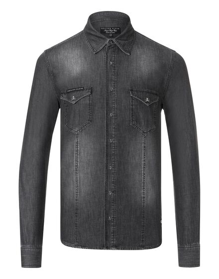 Denim Shirt Ls Counting