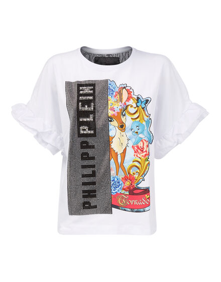 T-shirt Round Neck SS Drunk in Love Princess