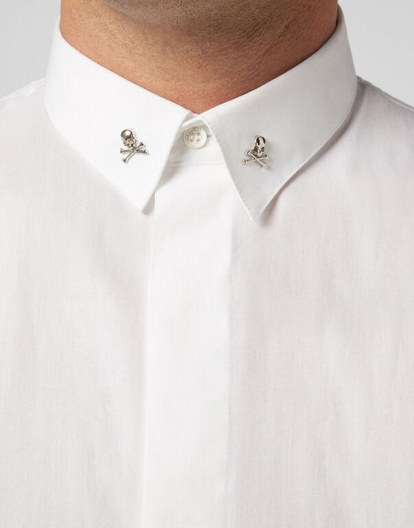 Shirt Crystal cut LS Elegant