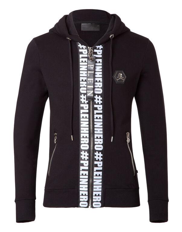 "hooded jacket ""plein hero"""