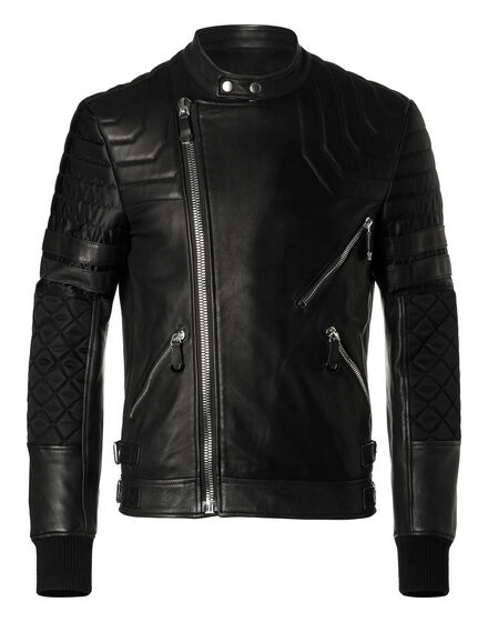 Leather Biker Quian
