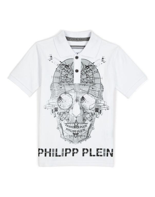 "polo ""cyber skull"""