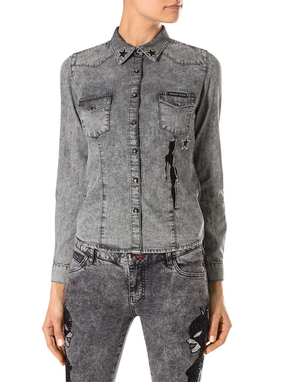 "denim shirt ""lady"""