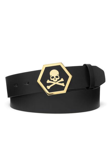 Leather Belt Skull