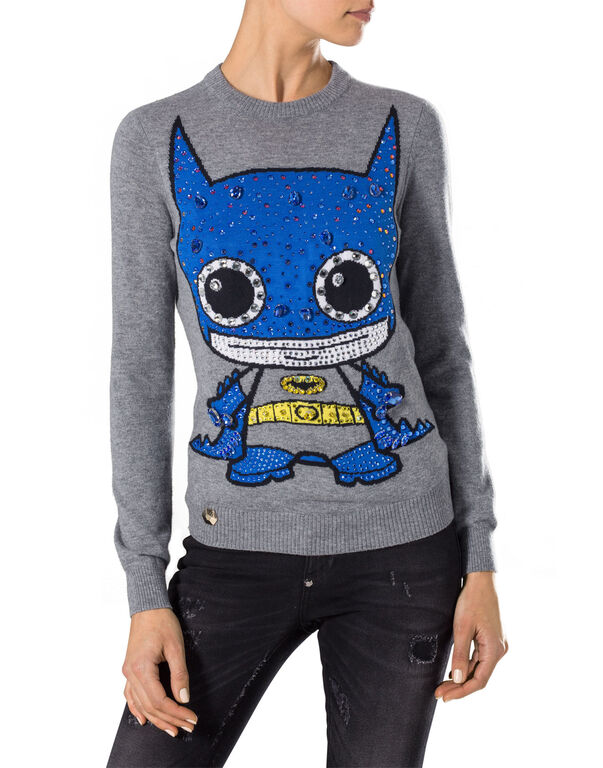"knit pullover ""getaway"""