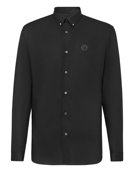 Shirt Crystal cut LS Philipp Plein TM