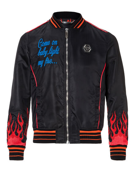 Nylon Jacket Hotfix flames