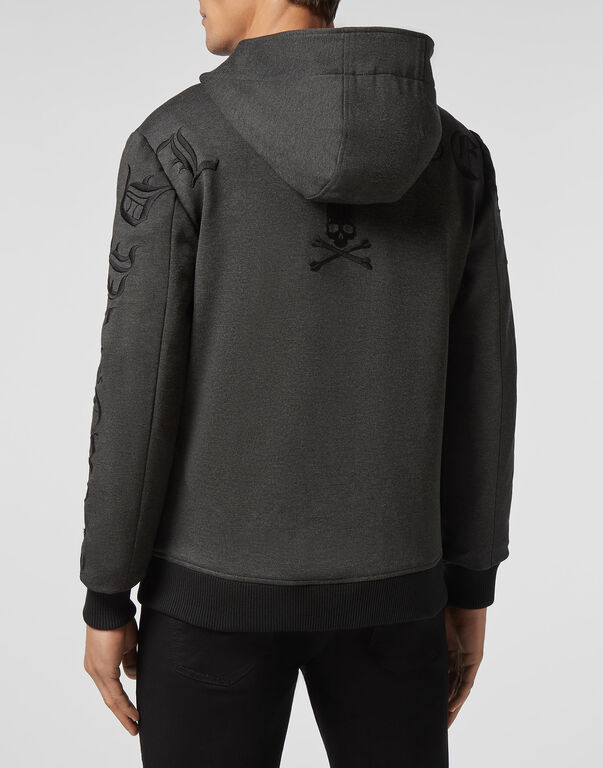 Hoodie Sweatjacket Gothic Plein