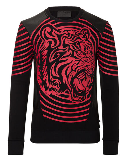 Sweatshirt LS Tribal tiger