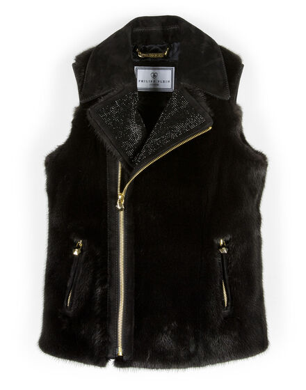 fur vest in my heart