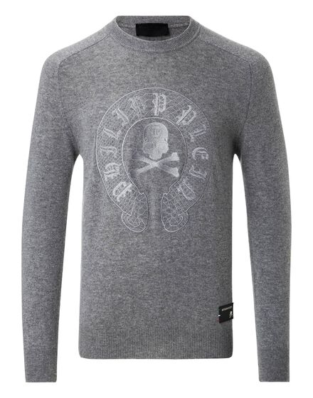 Pullover Round Neck LS Side to side
