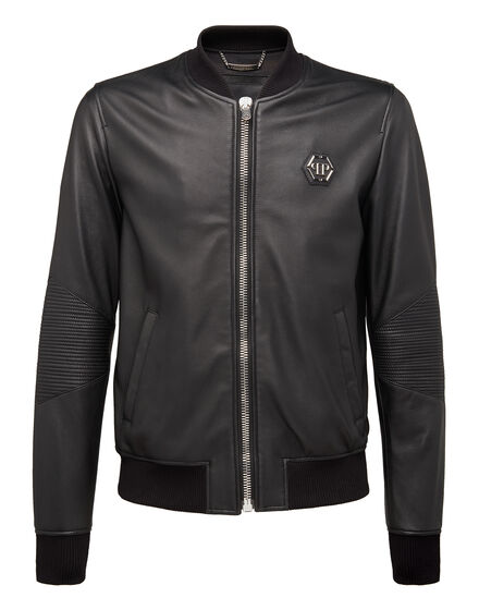 Leather Bomber Braxton