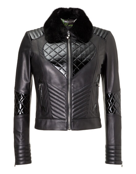 Leather Biker Desim