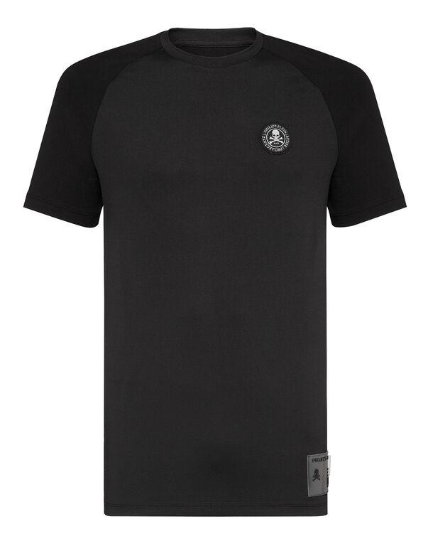 T-shirt Round Neck SS XYZ Scratch