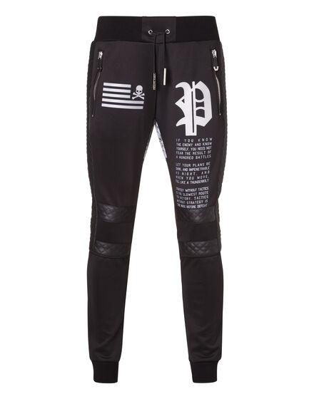 Knit Jogging Trousers Jiro